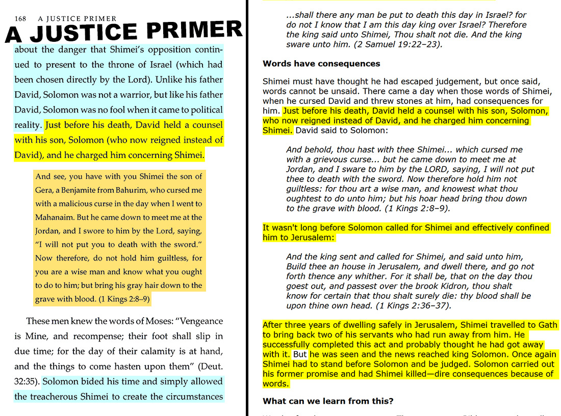 A Justice Primer page 168 — Paul Rose