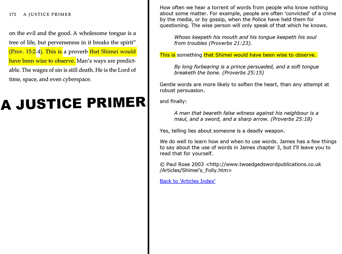 A Justice Primer page 172 — Paul Rose