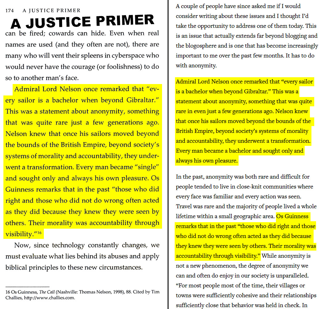 A Justice Primer page 174 — Challies