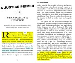 A Justice Primer page 31 — By This Standard page 16
