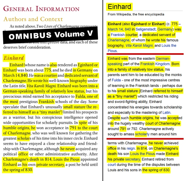 einhard and notker the stammerer essay The first is written by einhard who was present in charlemagne's reign and the second some years later by a monk named notker the stammerer charlemagne also known as charles the great or charles i, was the king of the franks from 768, the king of italy from 774, and from 800 the first emperor this is an interesting read as you have two writers.